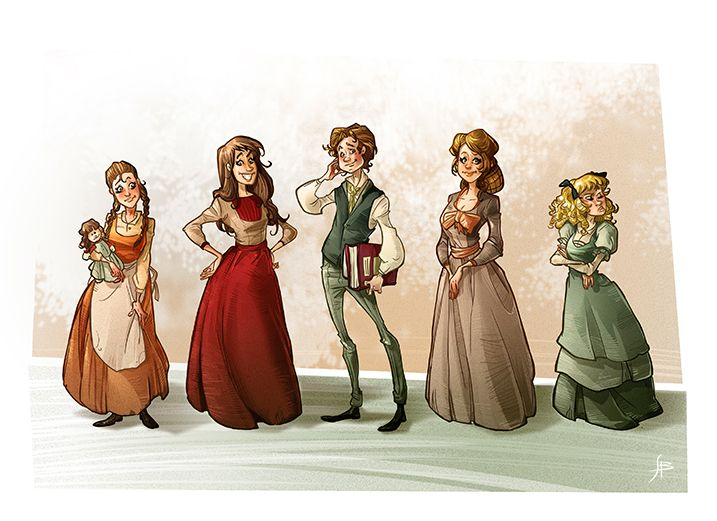 who is the main character in little women