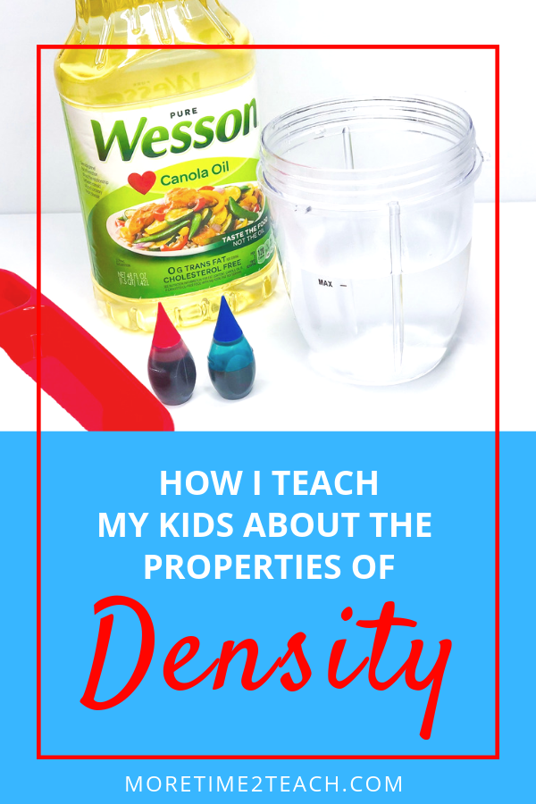 4th Of July Density Science Experiment More Time 2 Teach Science Experiments Science Experiments Kids Oil And Water Experiment