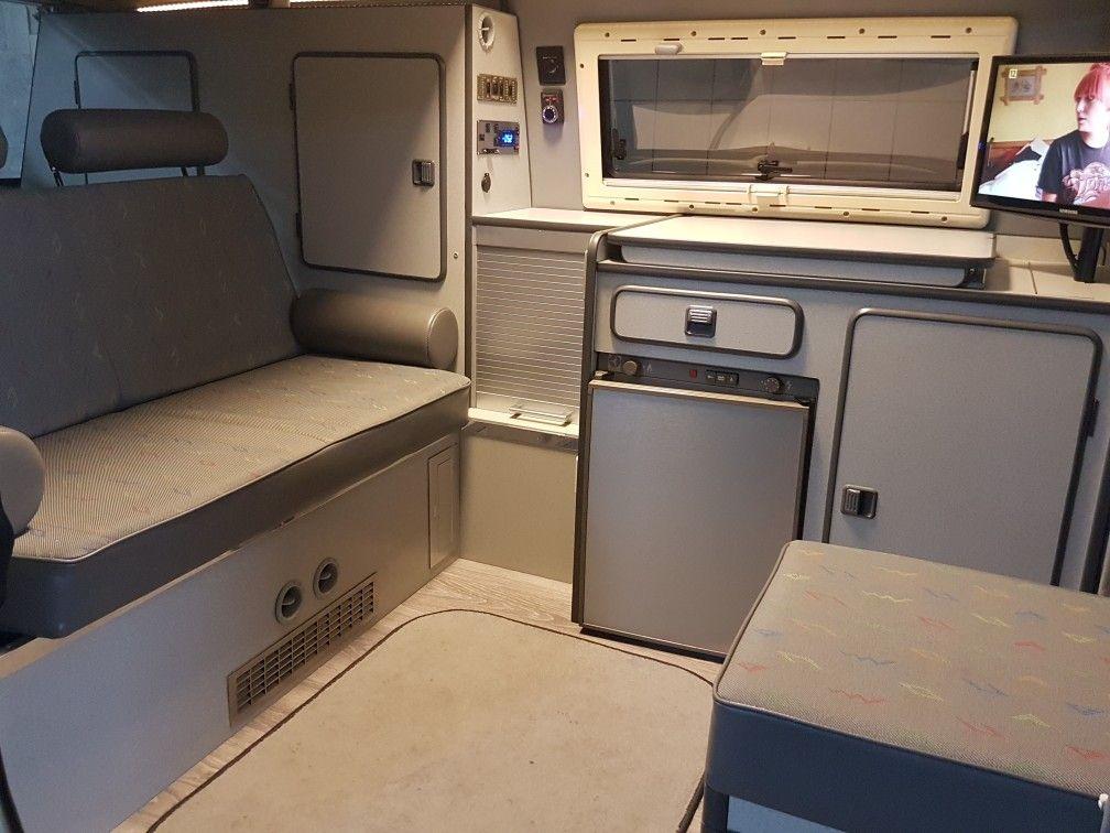Vw T3 T25 Custom Interior Reimo Camper Campervan Interior Camper Interior Bus Interior