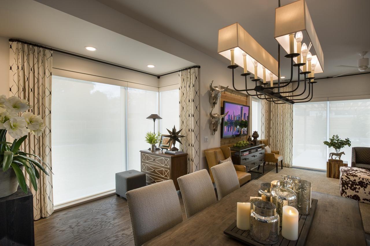 lighting design from hgtv smart home 2015 - Rustic Hotel 2015