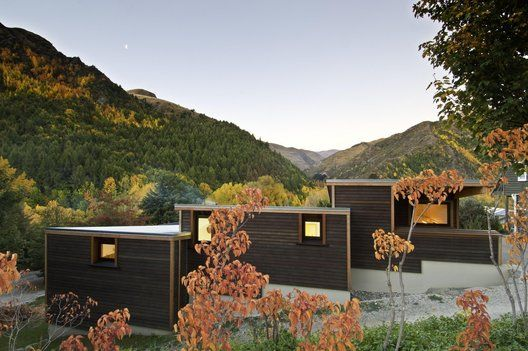 Arrowtown House kerr ritchie architects queenstown new zealand