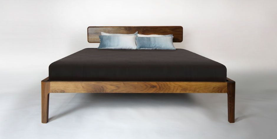 Our Smooth Bed   solid walnut and immaculate craftsmanship adhere to the  sleek design of this. Our Smooth Bed   solid walnut and immaculate craftsmanship adhere