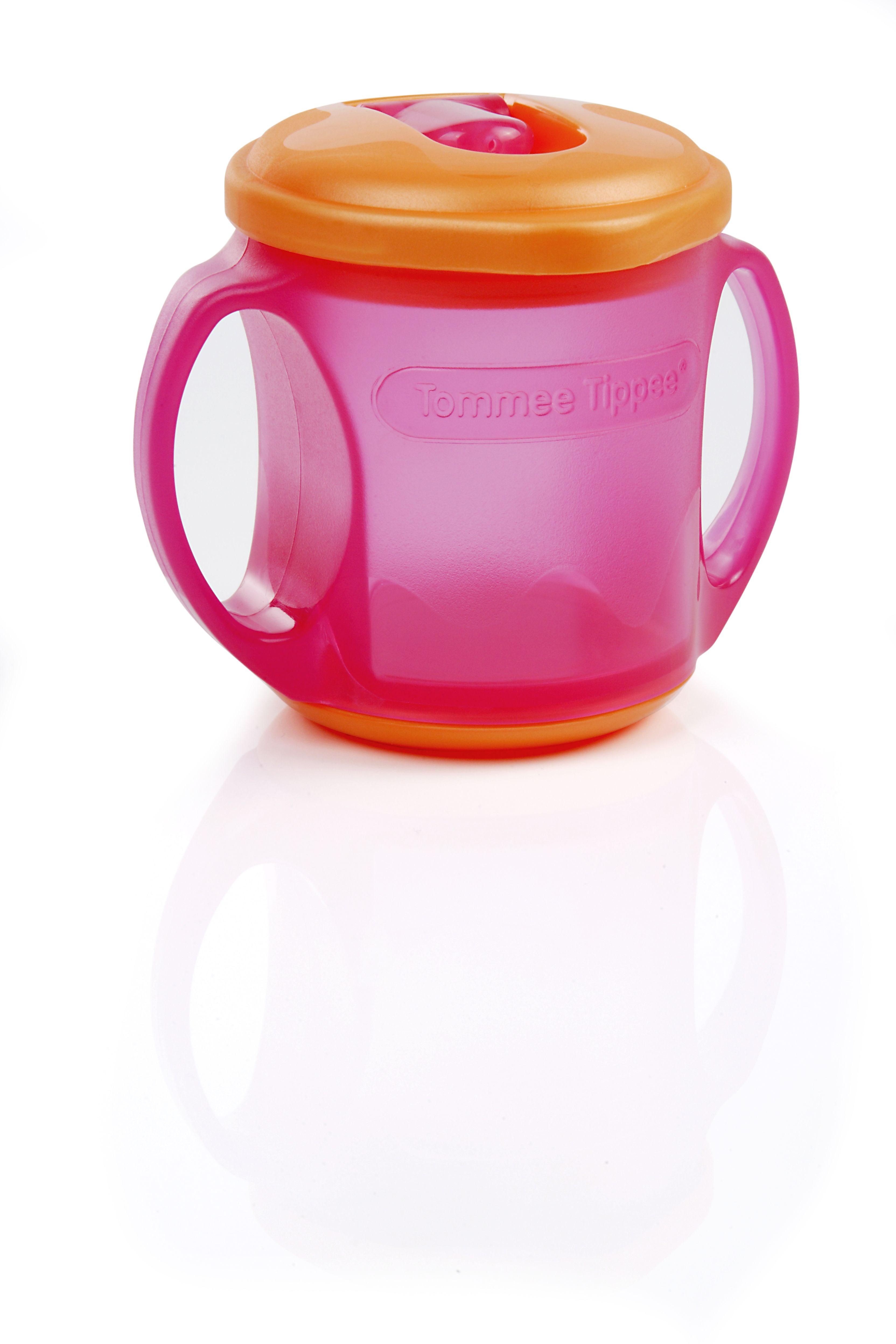 Tommee Tippee 174 Sip N Seal Cup Tommeetippeeau Cups Sippycups Pink Orange Toddlercup Cupwithhandles Bpafree Tommee Tippee 174 Baby