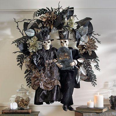 Halloween Wreaths - Grandin Road Halloween / noche de brujas