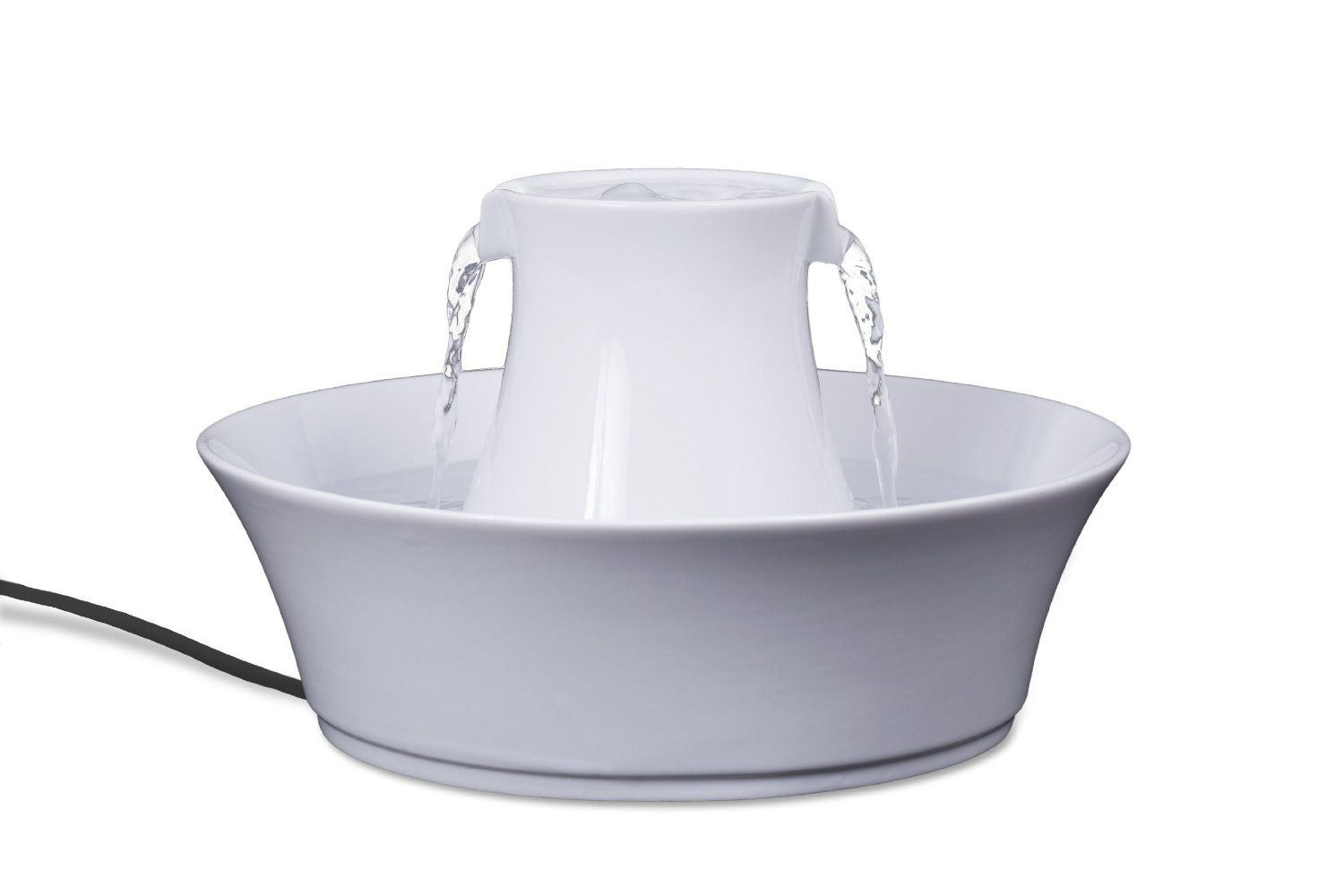 Amazon.com : Drinkwell Ceramic Avalon Fountain for Pets : Pet Self Waterers : Pet Supplies