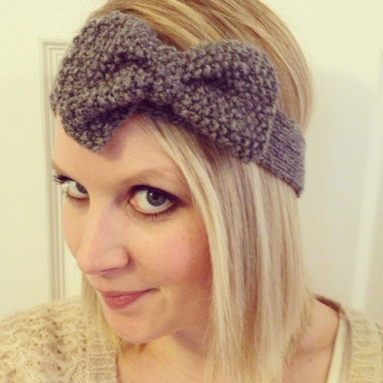 Easy+Knit+Headband+Free+Pattern | ... & Lifestyle Blog: My First ...