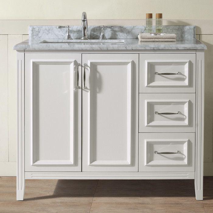 "Ari Kitchen & Bath Jude 42"" Single Bathroom Vanity Set & Reviews | Wayfair.ca"