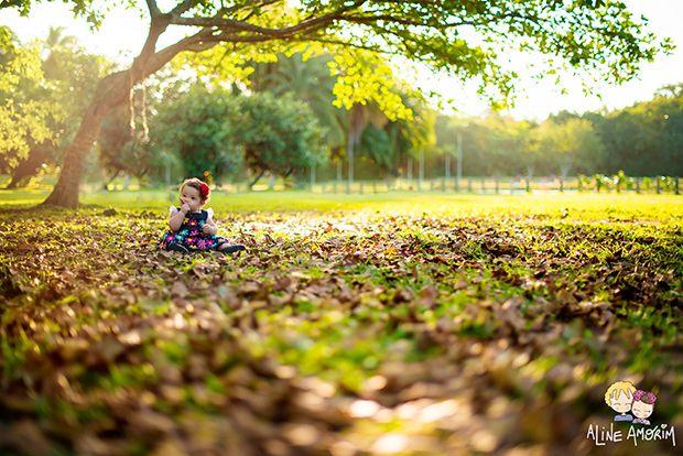Regra dos terços fotografia infantil