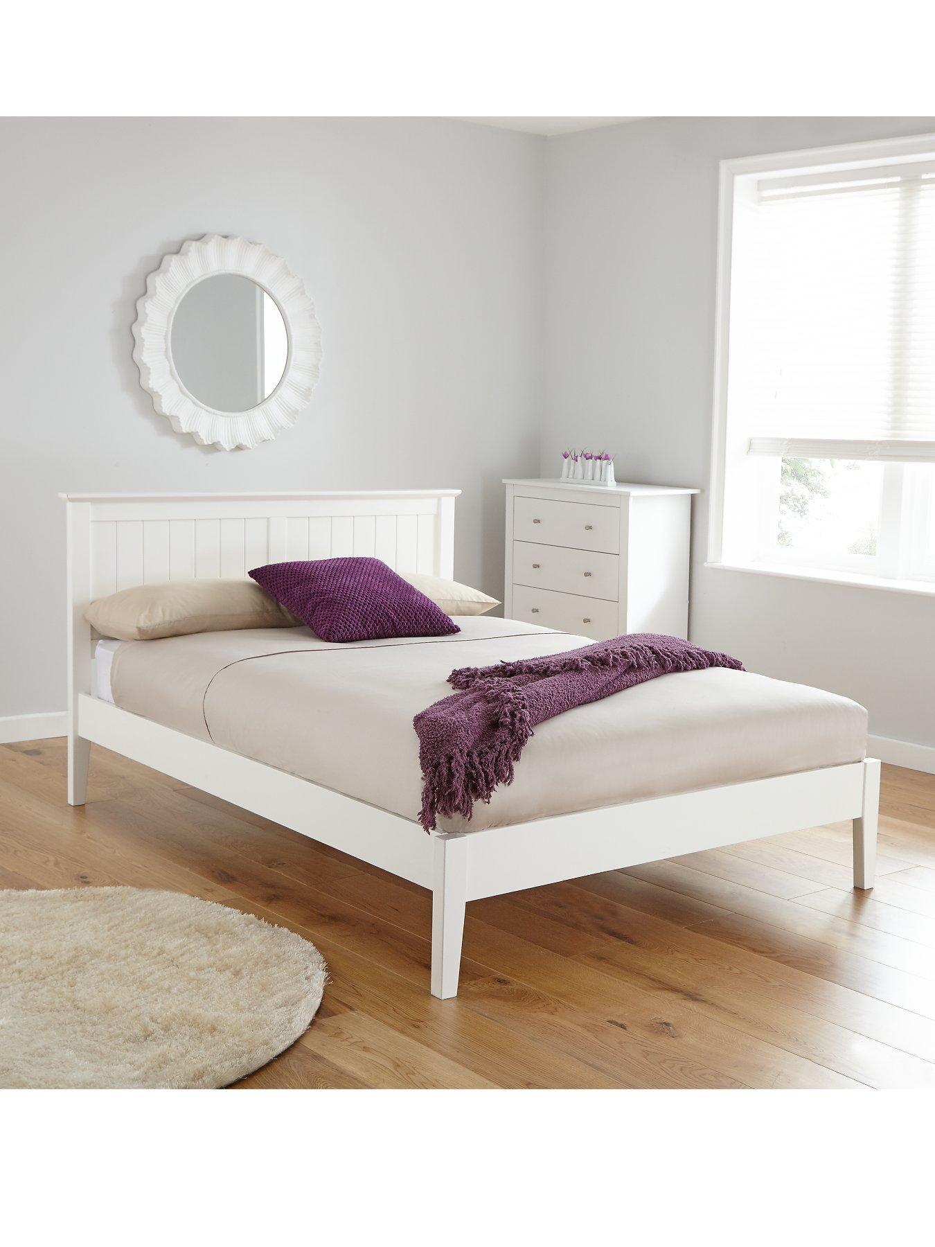 havana double bed frame h 96 2 w 148 d 203 cm mattress guide
