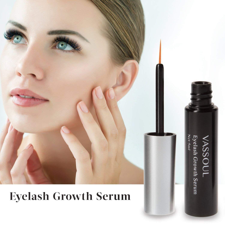 83c616ff707 Natural Vassoul Eyelash Growth Serum, Lash & Eyebrow Rapid Grows Longer  Fuller Thicker in 60 Days!!! (5 ml)