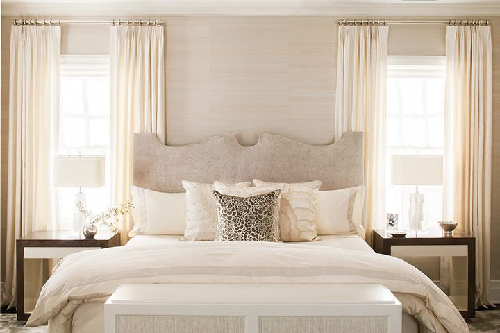 Neutral Bedroom Beige White Ivory And Taupe - Chambre Beige