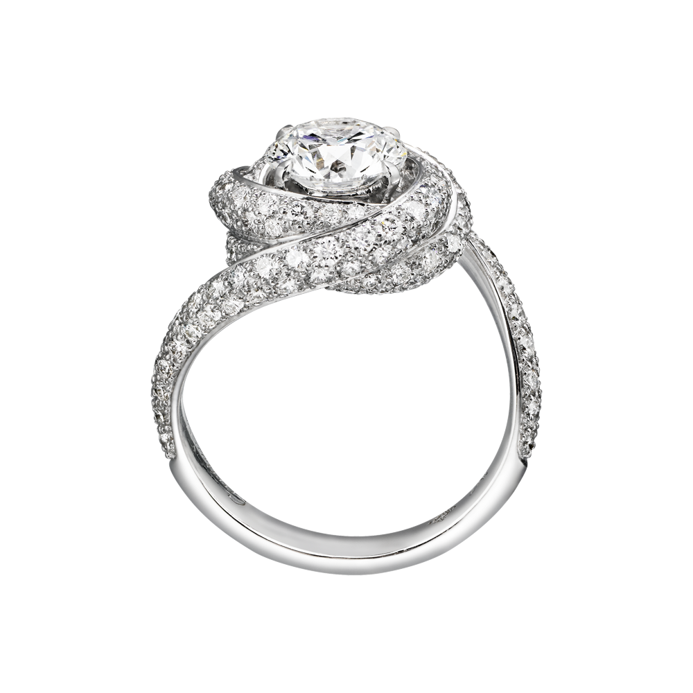 Cartier Trinity Wedding Ring: Cartier Diamond Rings, Engagement