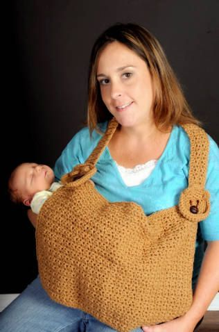 Baby Bear Nursing Cover Up Crochet Pattern by SandysCapeCodOrig, $2.95
