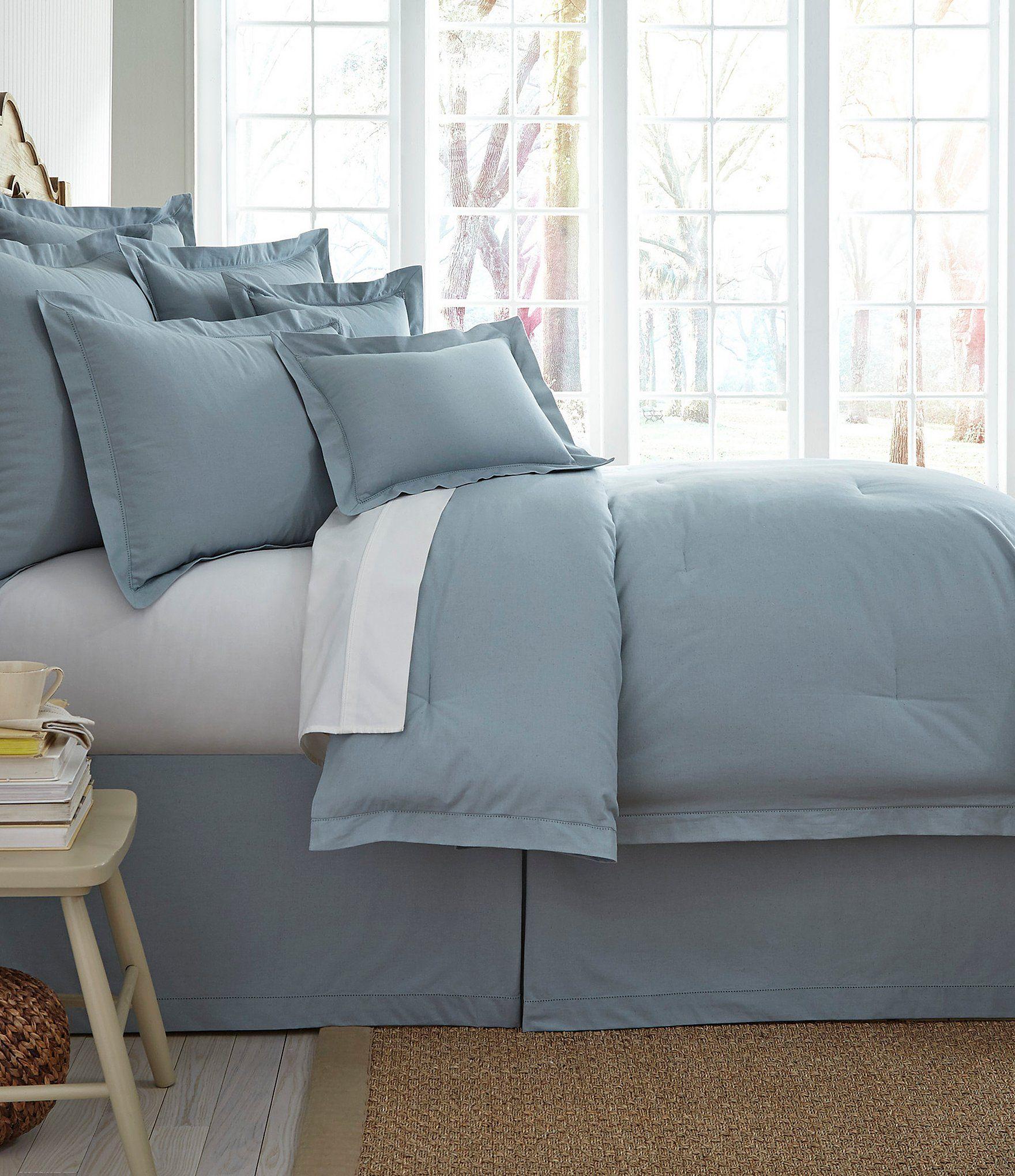 Dillards Home Decor: Noble Excellence Villa Naturals Linen-Textured Comforter