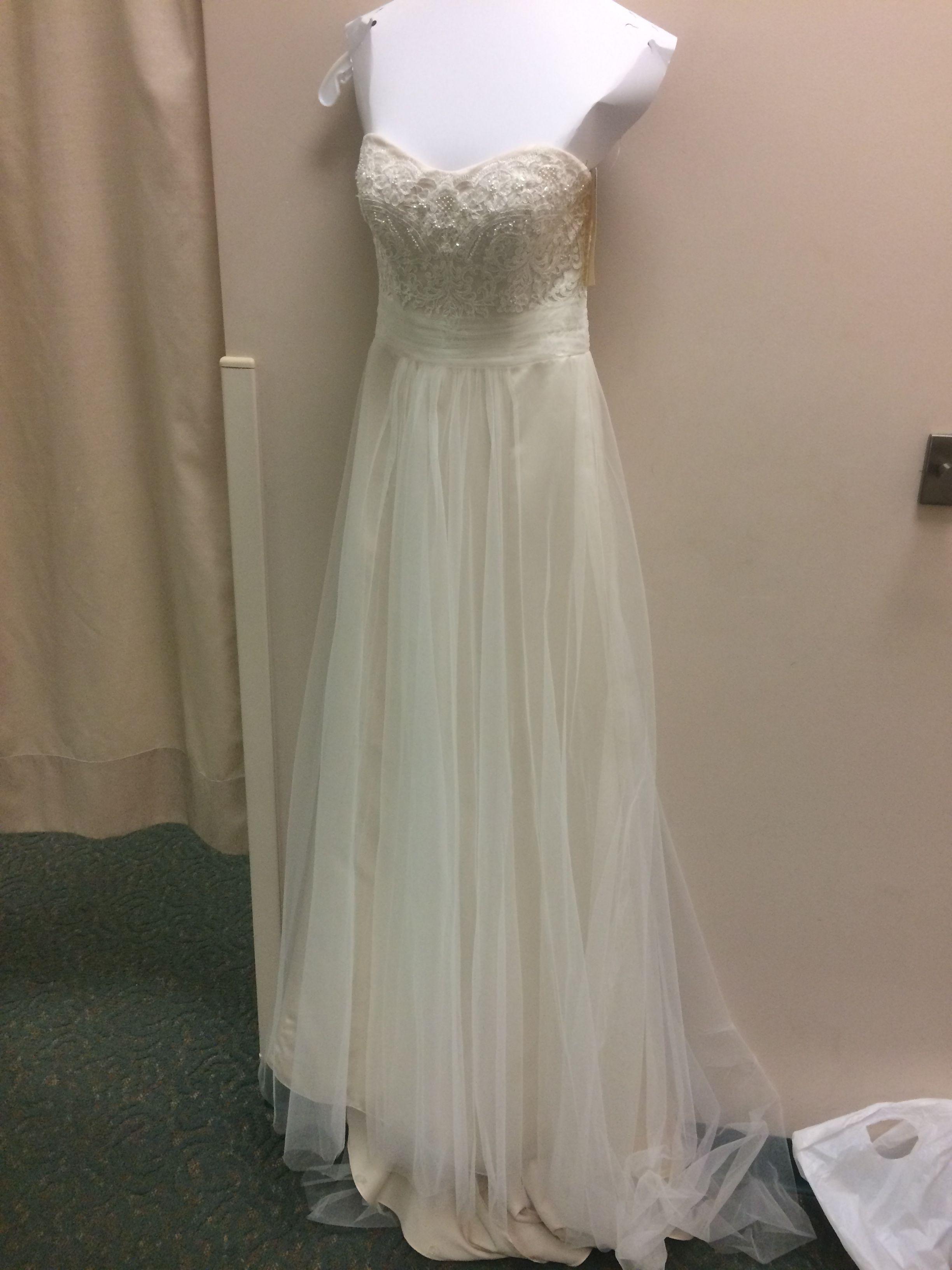 0c4ffc5ddfdea David's Bridal - WG3586 in Ivory/Champagne | Wedding | Wedding ...