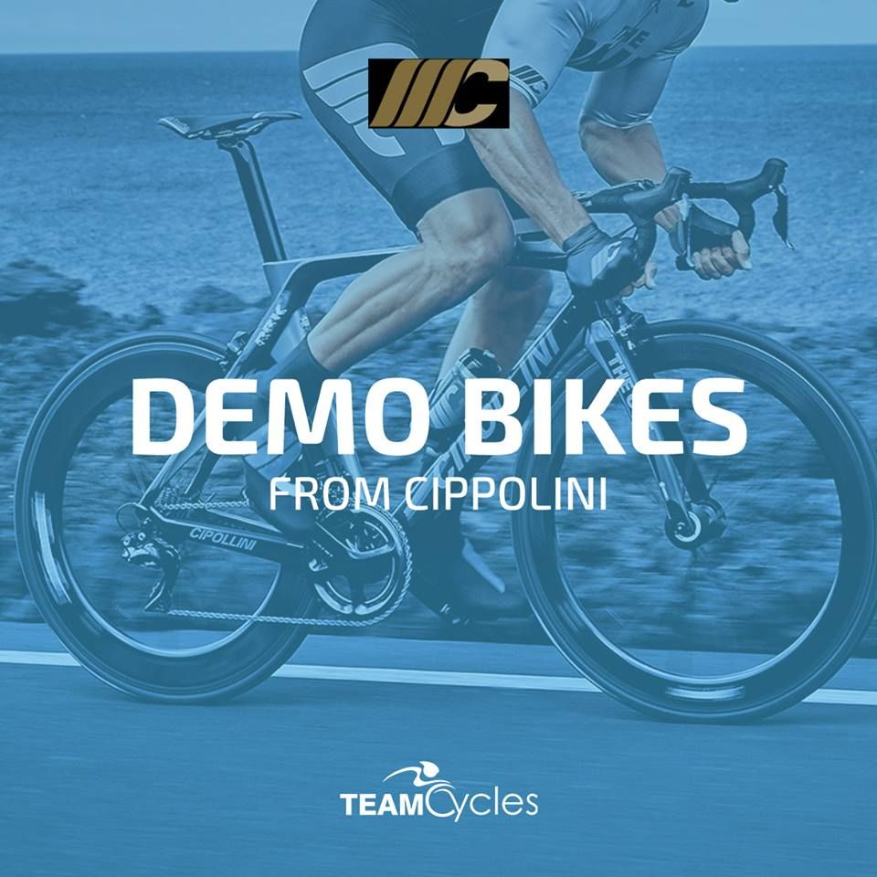 We Can Confirm There Will Be New Demo Bikes From Cippolini At Our