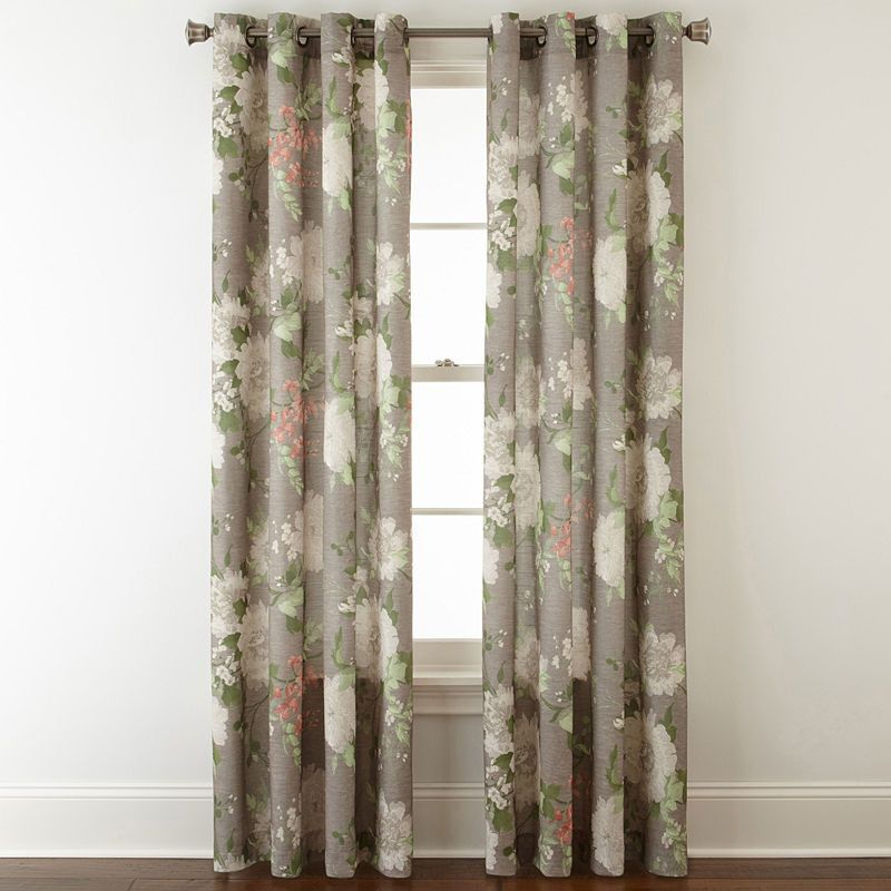 Jcpenney Home Farrah Grommet Top Curtain Panel In 2019
