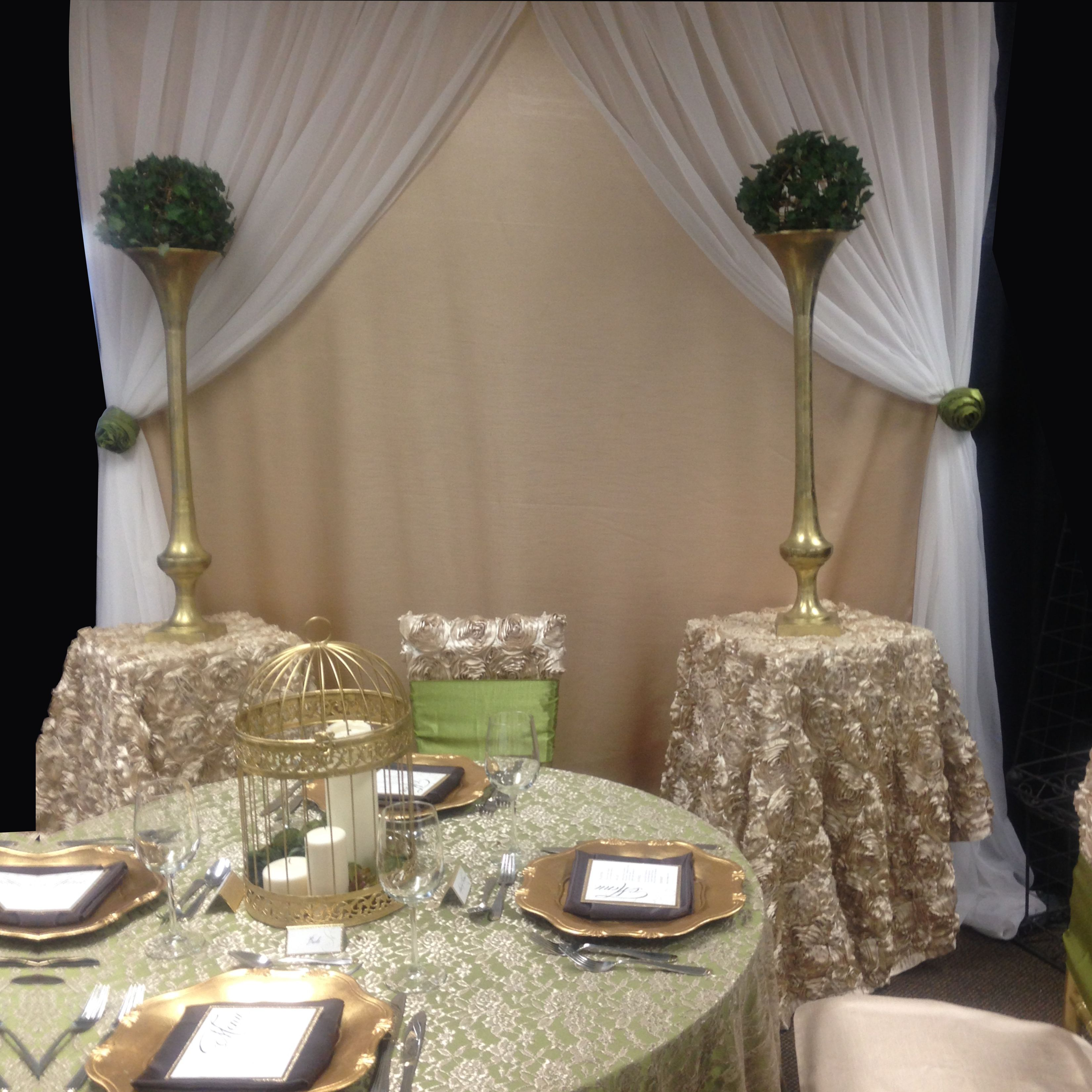 Learn how to set up a beautiful window backdrop--step-by-step!