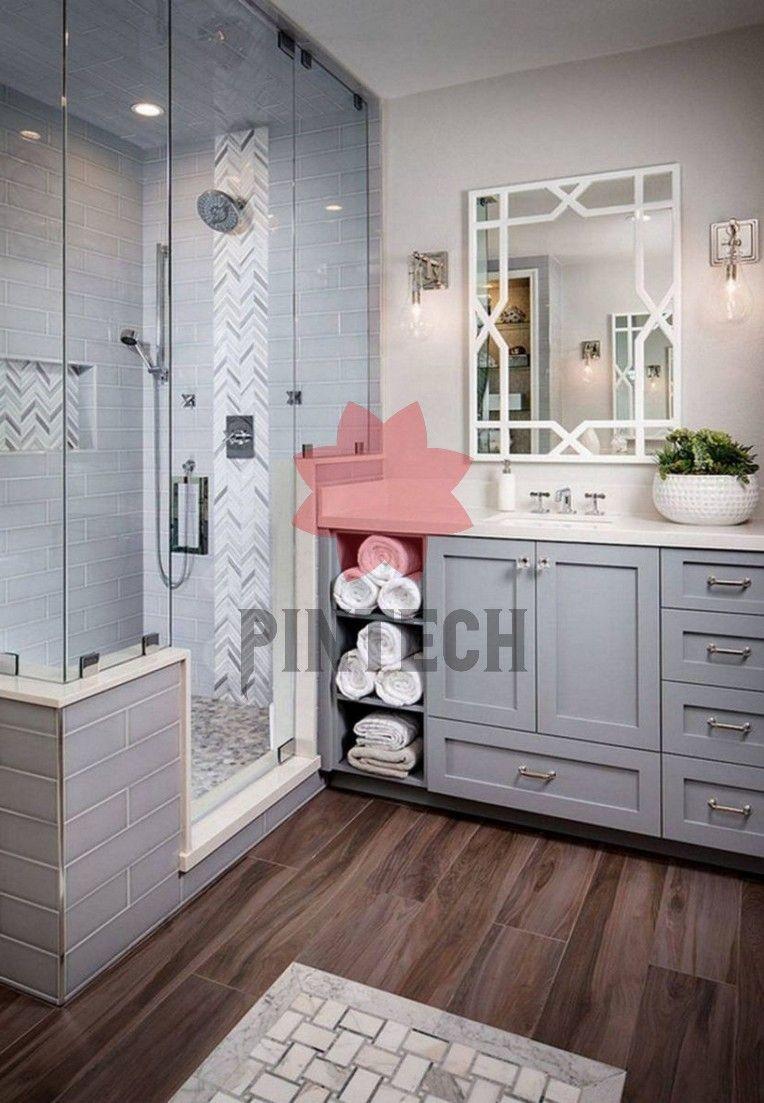 11 Moderne Bauernhaus Master Badezimmer Renovierung mit ...