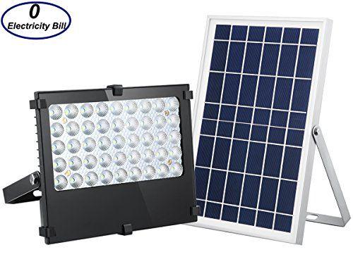 Solar Flood Light 1000 Lumens Outdoor Solar Security Ligh Https Www Amazon Com Dp B074tgtw7y Ref Cm Sw R Pi Solar Flood Lights Flood Lights Outdoor Solar
