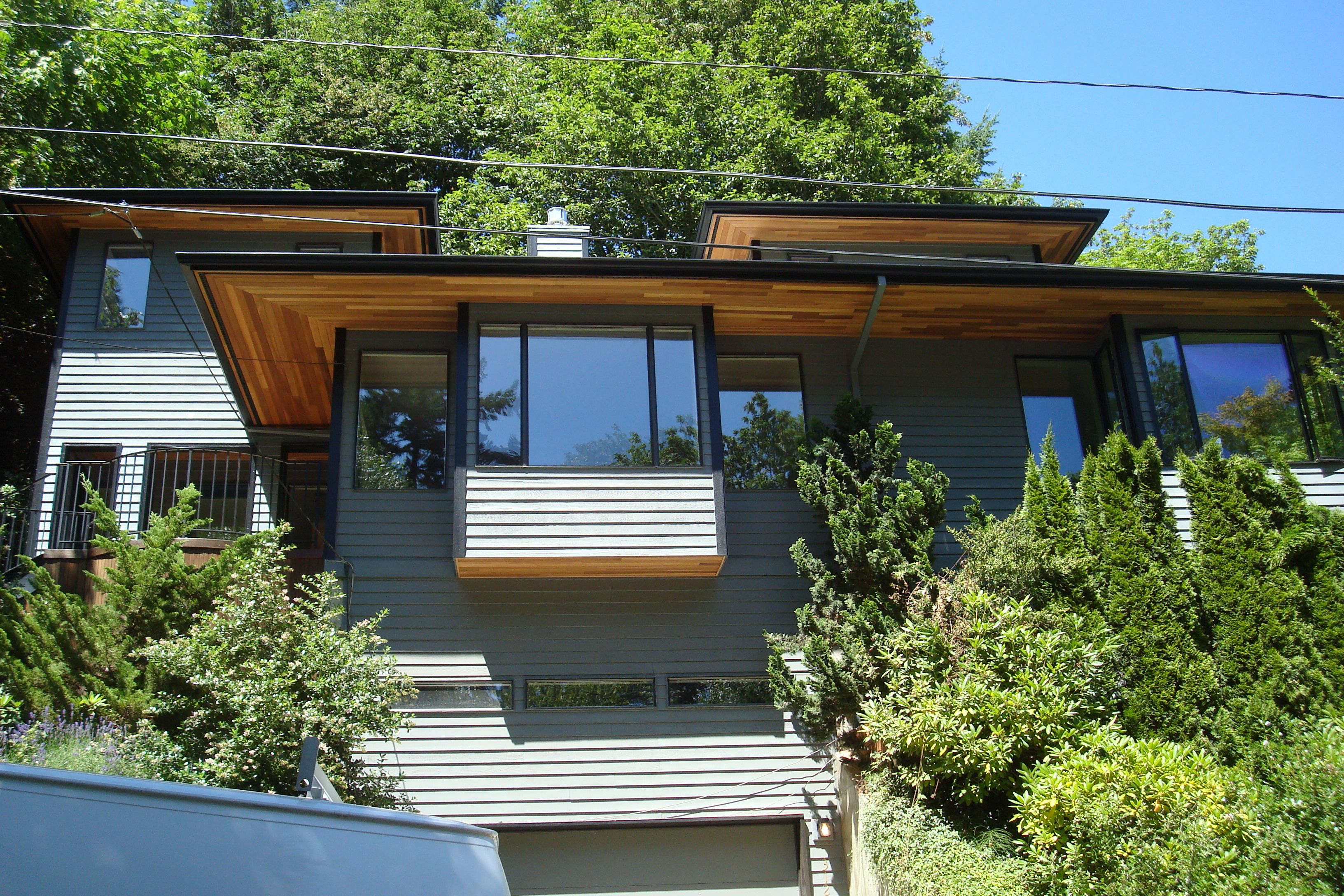 Cedar Tongue And Groove Soffits Exterior House Colors House Designs Exterior House Exterior