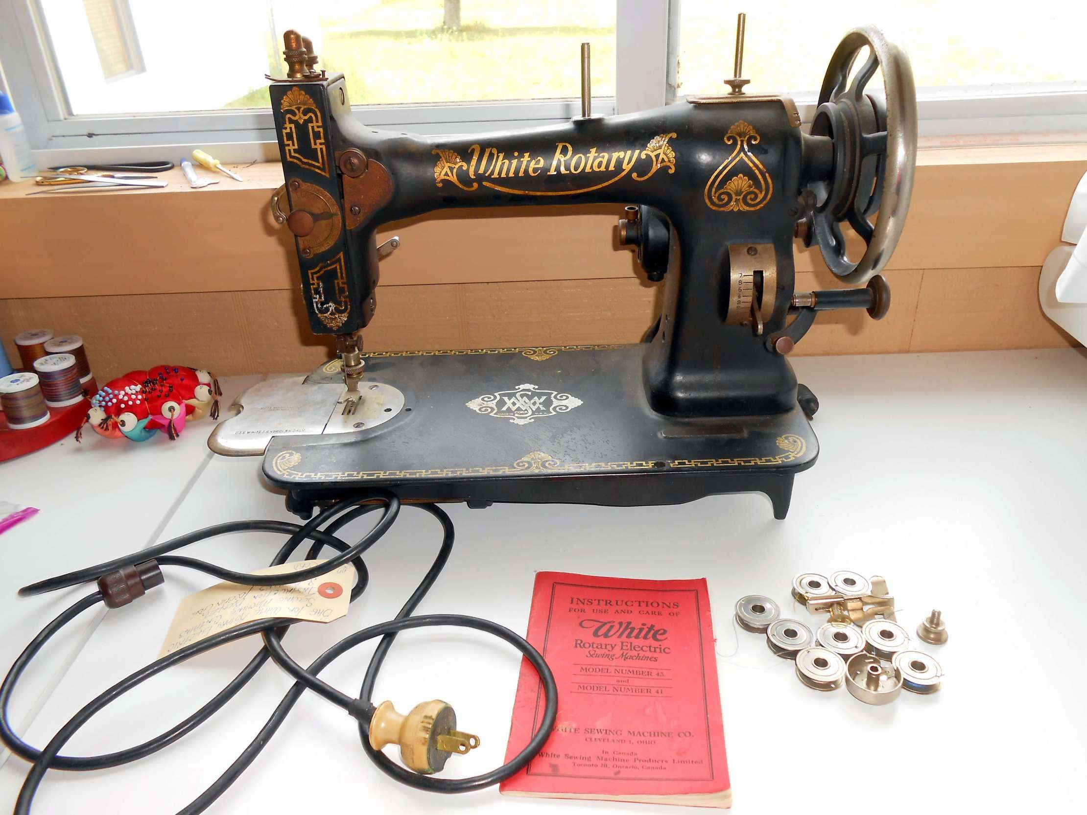White Rotary Sewing Machine: What Needle to Use   White ...
