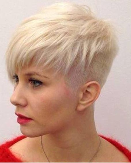 Hairstyles For Short Thin Hair Endearing Undercut Pixie For Thin Hair Short Hairstyles For Fine Hair  Hair
