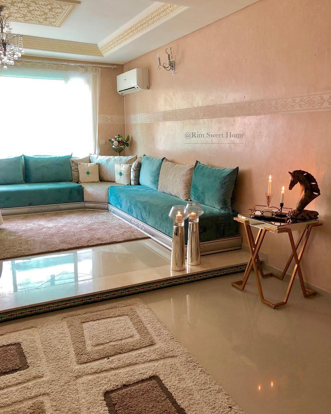 Maison Marocaine Sur Instagram Livingroom Decorationinterieur Design Architecte Home Living Room Design Decor Living Room Sofa Design Home Room Design