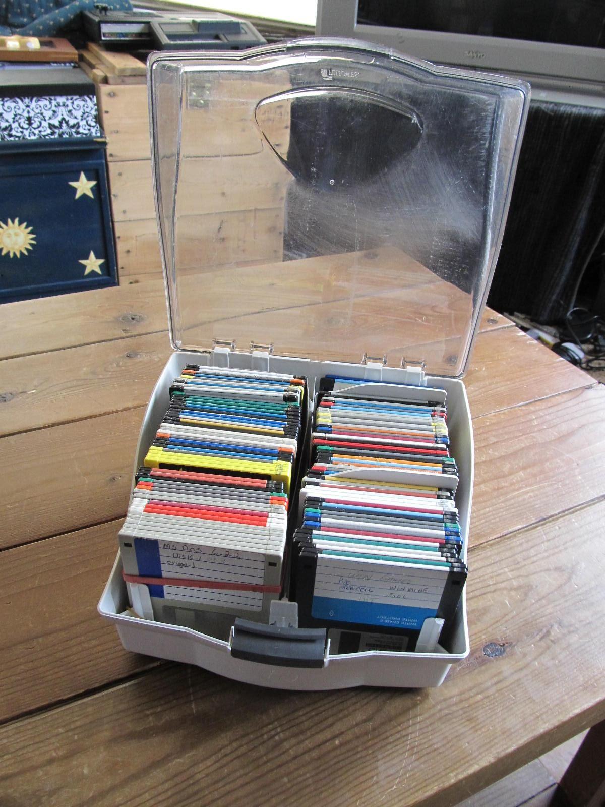 I've still got a box of Save Buttons I mean floppy disks