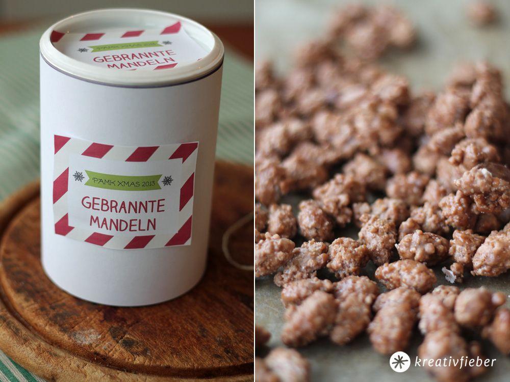 Gebrannte Mandeln selbermachen - Rezepte PAMK Froh und lecker #gebranntemandeln