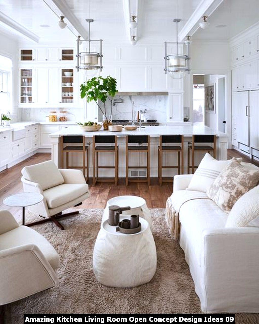 Amazing Kitchen Living Room Open Concept Design Ideas ...