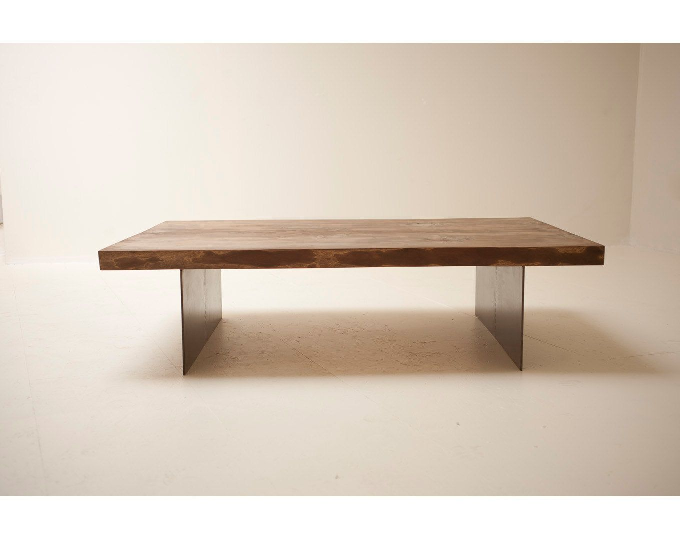Coffee Table Handmade With Naturally Fallen Wood And Reclaimed Steel By Blake Avenue Coffee Table Coffee Table Wood Reclaimed Wood Coffee Table [ 1080 x 1360 Pixel ]