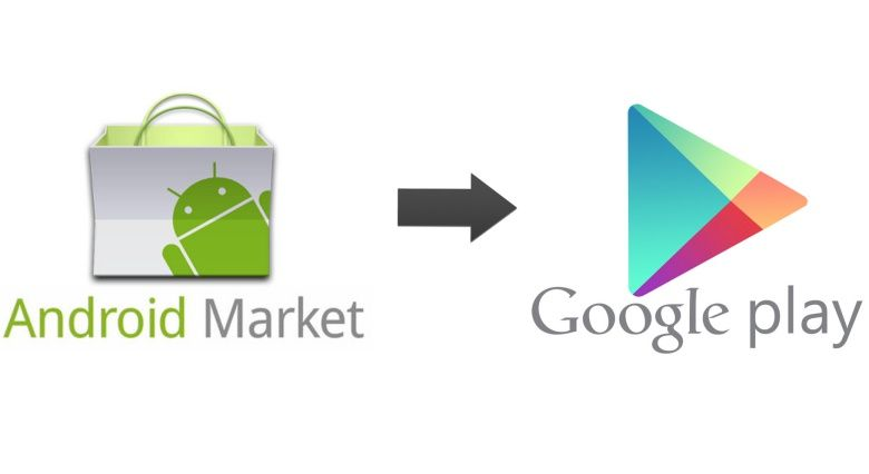 Android Market was still a thing but it's officially no