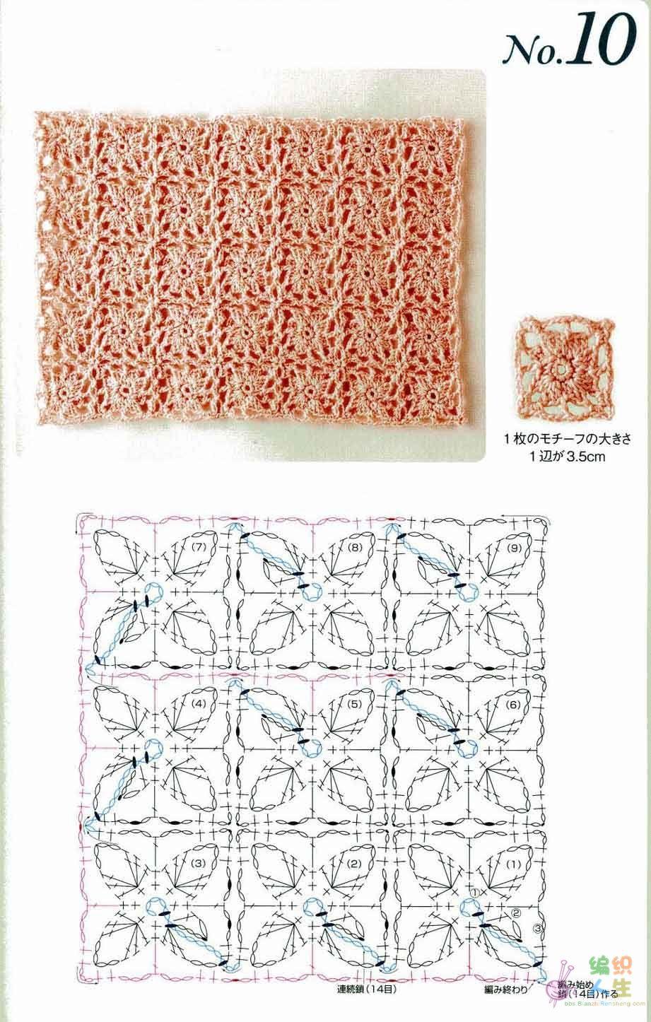 Clases de Puntos y Patrones. Libros - Patrones Crochet | Aplic 2 ...