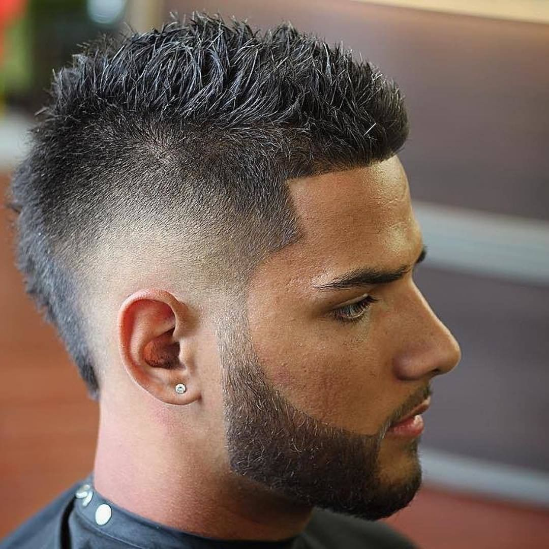 33 Best Mohawk Fade Haircuts For Men That Are Totally Cool Mens Haircuts Fade Mens Haircuts Short Mohawk Hairstyles Men