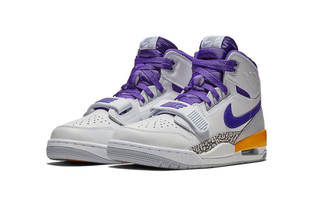 Jordan Legacy 312 Lakers Sneakers Fresh Sneakers Hot Sneakers