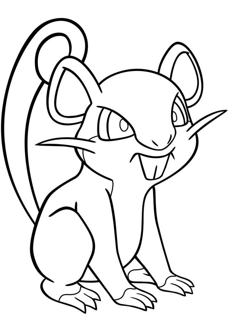 019 Rattata Coloring Page Pokemon Babyhouse Info Pokemon Coloring Pokemon Coloring Pages Coloring Pages