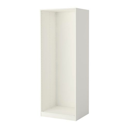 IKEA PAX White Wardrobe frame Ikea pax wardrobe, Ikea