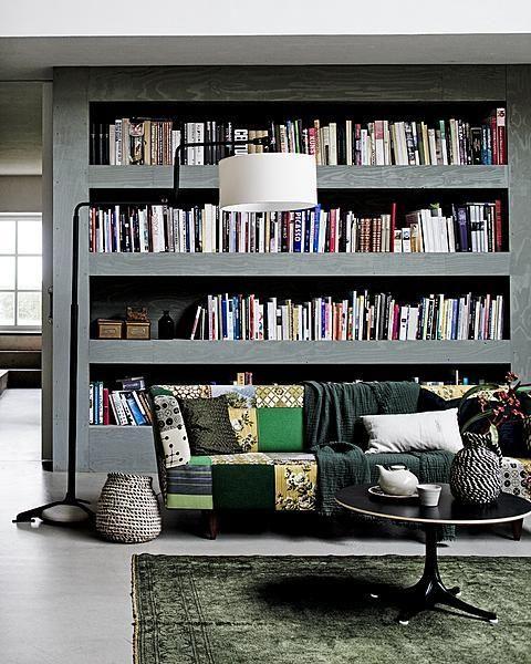 great bookshelves
