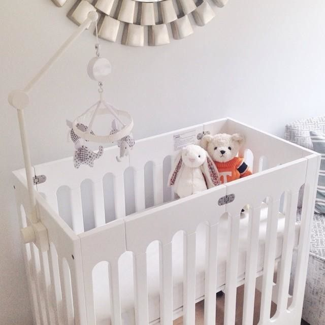 Outfit The Nursery With Our Bloom Alma Mini Crib And Other