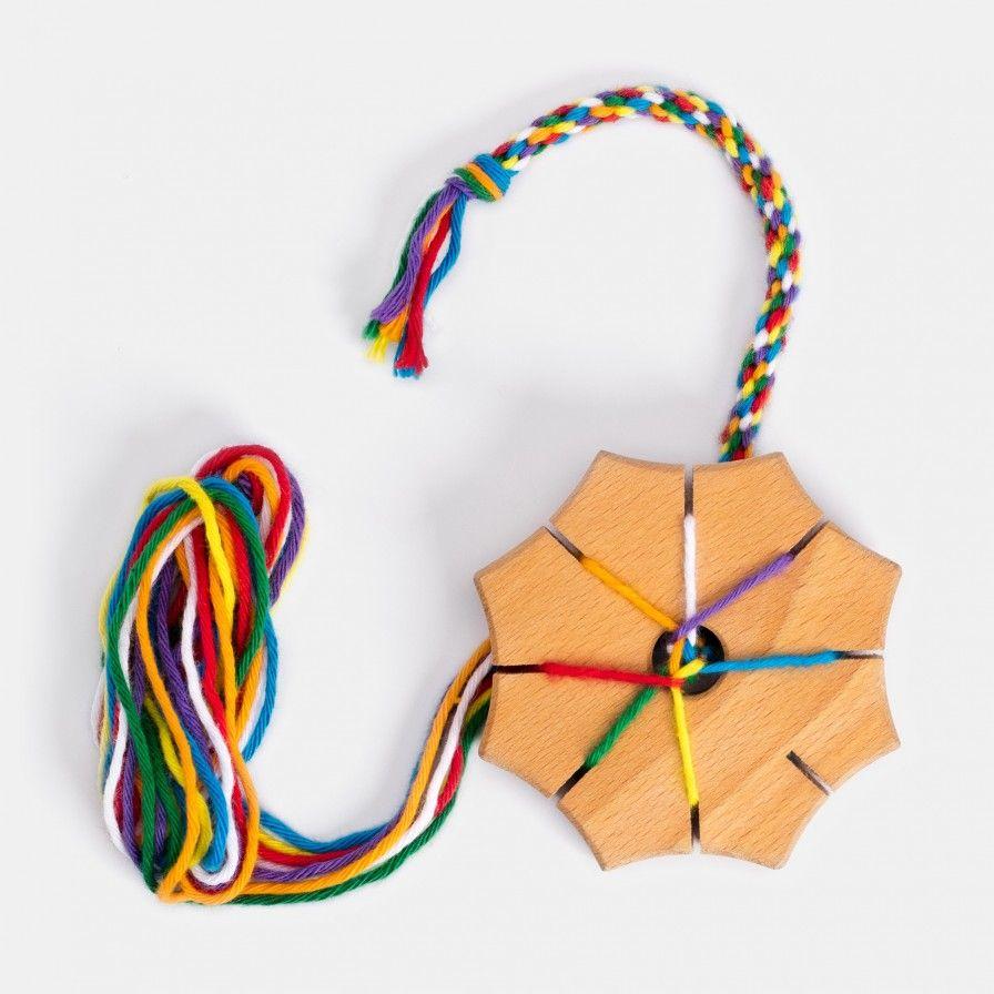 Knupfstern Aus Holz Von Dieters Echtkind Armband Kinder Kinder Basteln Holz Werken Mit Kindern Holz