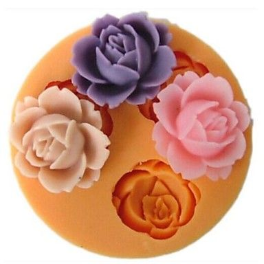 Decorating DIY 3D Silicone Baby Fondant Sugar Craft Cake Mold Tool CB