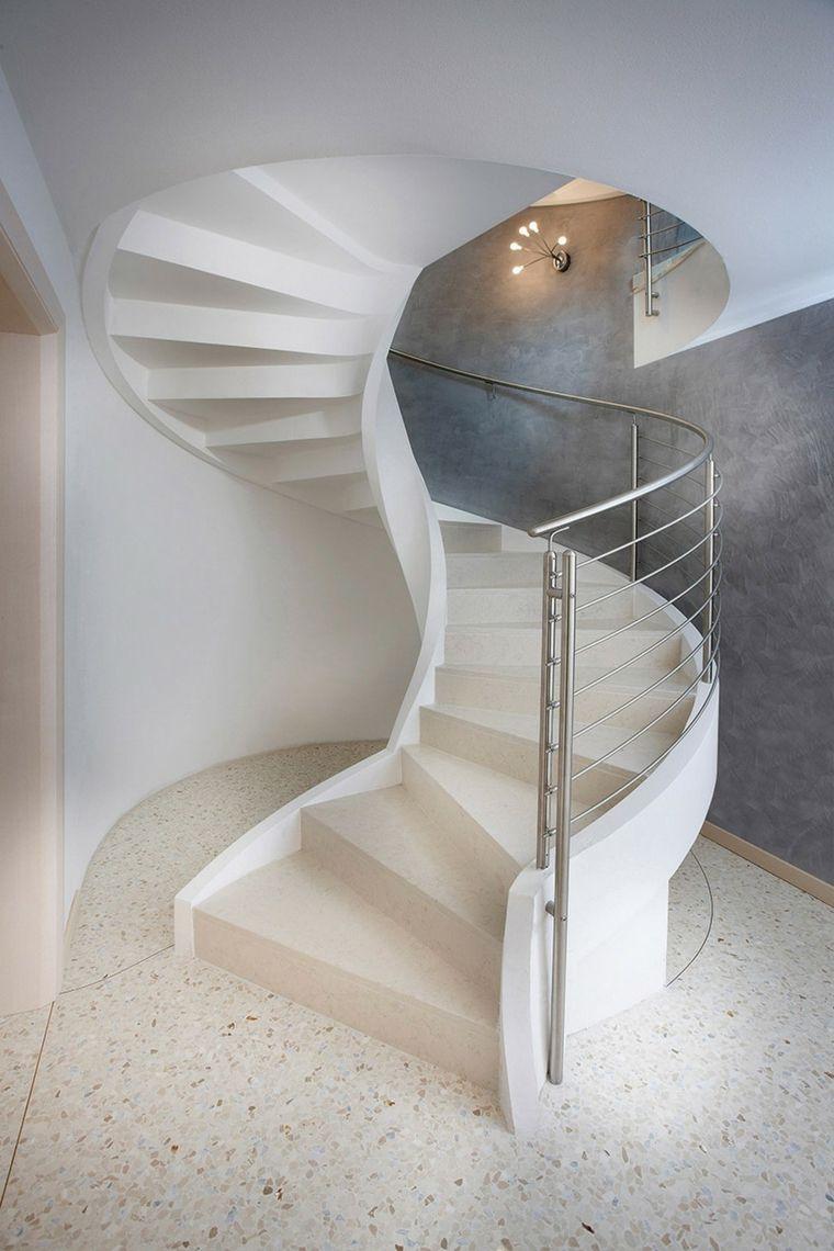 Escaleras de caracol modernas - más de 24 diseños alucinantes ...
