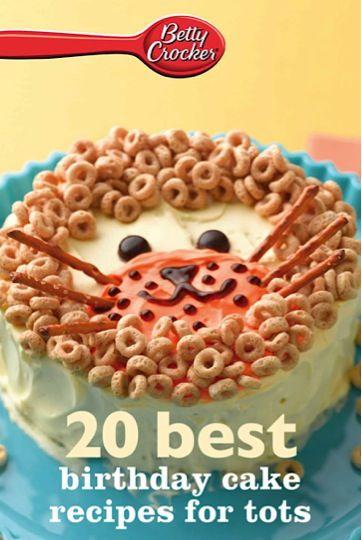 Betty Crocker Birthday Cakes Recipes eCookbook Baby 1st birthday