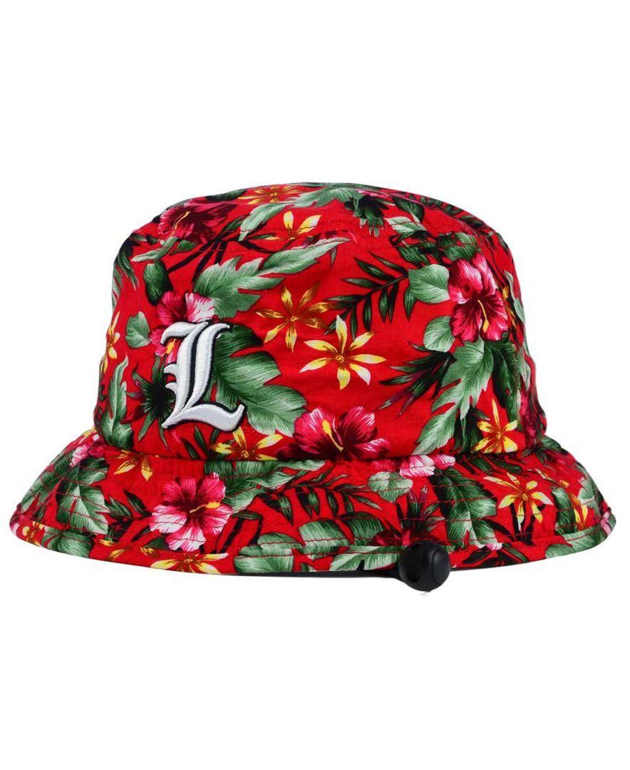 Top Of The World Louisville Cardinals Waverunner Bucket Hat Sports Fan Shop By Lids Men Macy S Louisville Cardinals Hats Louisville