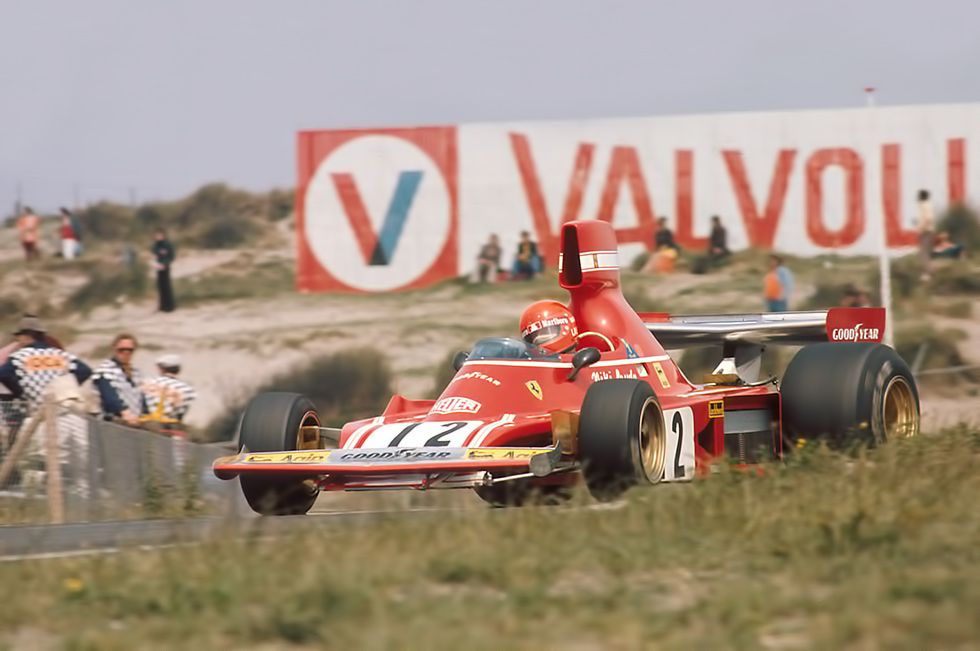 Niki Lauda , Zandvoort 1974