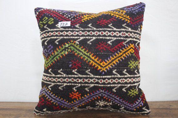 20x20 kilim pillow coverOversize Kilim Cushion by SebilPillows