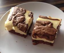 Rezept Cheesecake - Brownies von stennika - Rezept der Kategorie Backen süß