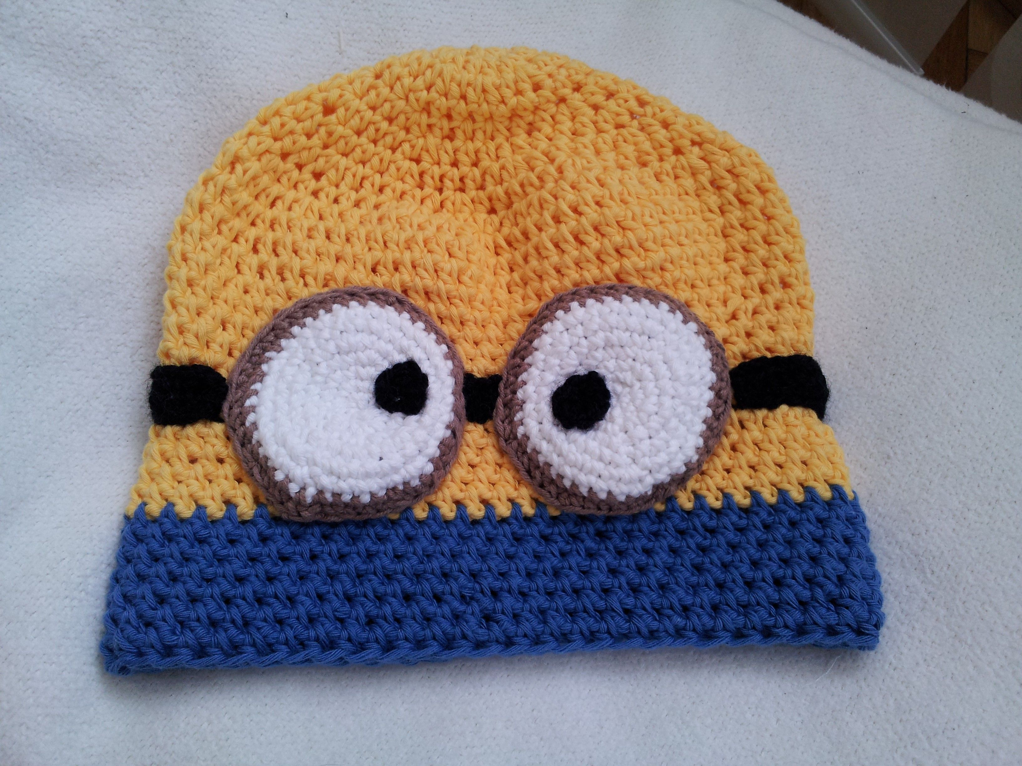 Minion Hat | gorrita bb | Pinterest