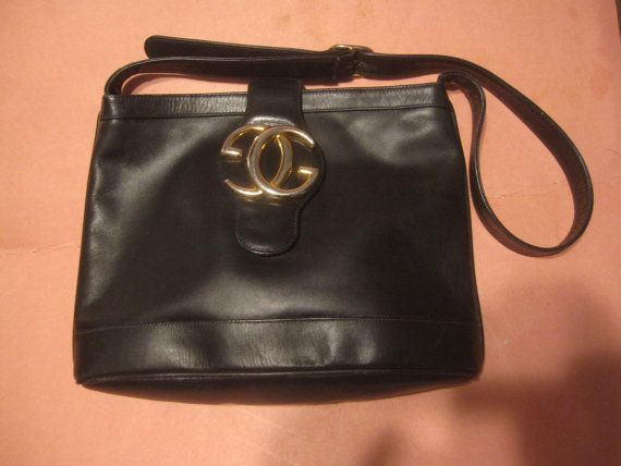 Hey, I found this really awesome Etsy listing at https://www.etsy.com/listing/222210635/rare-vintage-gucci-delicious-black
